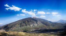 أين يقع جبل كورك