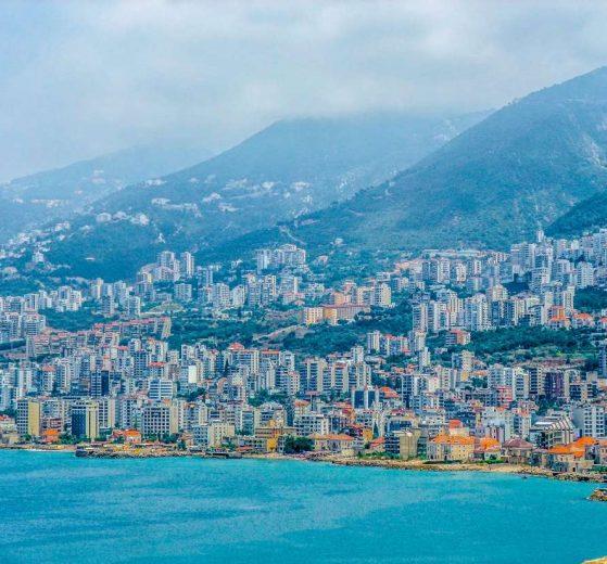 مدينة جونية في لبنان